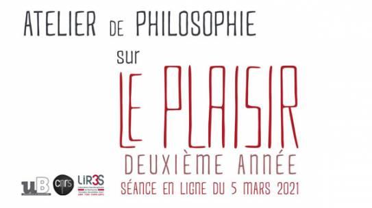 Atelier philosophique : Le plaisir