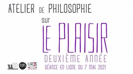Atelier philosophique : Le plaisir (2)